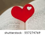 Red Heart In The Book....
