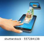 mobile banking online payment ... | Shutterstock . vector #557284138