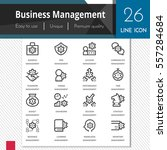 business management elements... | Shutterstock .eps vector #557284684