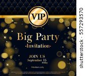 vip party premium invitation... | Shutterstock .eps vector #557293570