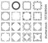design templates for logo ... | Shutterstock .eps vector #557309044