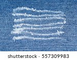 Trace On Denim Ripped Jeans. ...