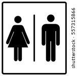 vector illustration of mens and ... | Shutterstock .eps vector #557315866