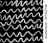 Abstract Line Wave Texture And...