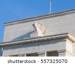 united states federal reserve... | Shutterstock . vector #557325070