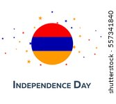 independence day of armenia.... | Shutterstock .eps vector #557341840