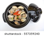 Japanese Asari Clams Steamed In ...