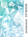 blue polygonal mosaic... | Shutterstock .eps vector #557385058