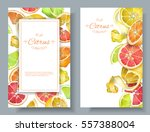 vector vertical banners with... | Shutterstock .eps vector #557388004