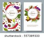 vector spice vertical banners...   Shutterstock .eps vector #557389333