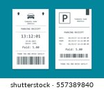 isometric set of parking... | Shutterstock .eps vector #557389840