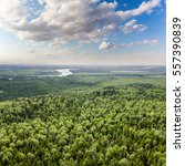 Aerial View Of Lowland Of...