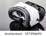 a pair of virtual reality... | Shutterstock . vector #557398690
