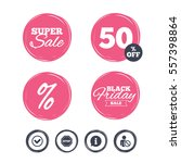 super sale and black friday... | Shutterstock . vector #557398864
