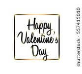 happy valentine's day | Shutterstock .eps vector #557415010