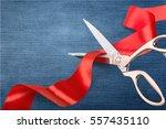 red tape. | Shutterstock . vector #557435110