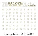 vector graphic set. icons in... | Shutterstock .eps vector #557456128