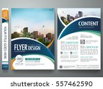 brochure design template vector.... | Shutterstock .eps vector #557462590