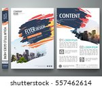 brochure design template vector.... | Shutterstock .eps vector #557462614