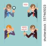 help support listen overhear... | Shutterstock .eps vector #557465023