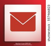 message vector icon. | Shutterstock .eps vector #557466823
