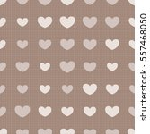 seamless pattern with hearts... | Shutterstock .eps vector #557468050