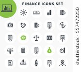 25 finance icons set  investing ... | Shutterstock .eps vector #557472250