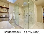 amazing master bathroom with... | Shutterstock . vector #557476354