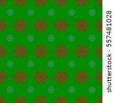 seamless design on green... | Shutterstock .eps vector #557481028