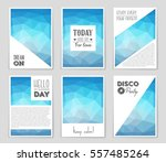 abstract vector layout... | Shutterstock .eps vector #557485264