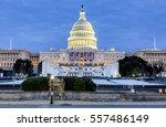 washington dc  usa   january... | Shutterstock . vector #557486149