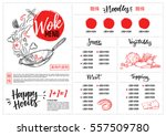 hand drawn vector illustration  ... | Shutterstock .eps vector #557509780