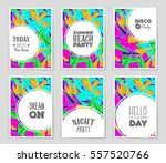 abstract vector layout... | Shutterstock .eps vector #557520766