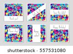 abstract vector layout... | Shutterstock .eps vector #557531080