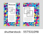 abstract vector layout... | Shutterstock .eps vector #557531098