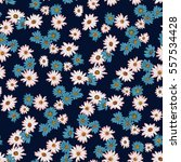 seamless floral pattern in... | Shutterstock .eps vector #557534428