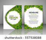 brochure design template.... | Shutterstock .eps vector #557538088
