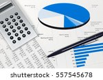 financial accounting stock... | Shutterstock . vector #557545678