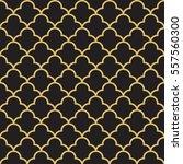 seamless geometric interlacing... | Shutterstock .eps vector #557560300