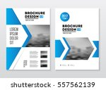 brochure cover design layout... | Shutterstock .eps vector #557562139