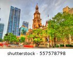 The Sydney Town Hall In...