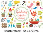 gardening icons set  design... | Shutterstock .eps vector #557579896