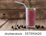 Healthy Blueberry Smoothie In ...