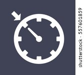 cruise control icon   Shutterstock .eps vector #557601859