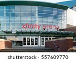 xfinity arena is a multi... | Shutterstock . vector #557609770