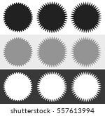 badges  starburst  sunburst ... | Shutterstock .eps vector #557613994
