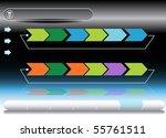 planning chart | Shutterstock .eps vector #55761511