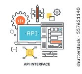 vector illustration of api...