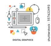 vector illustration of digital...
