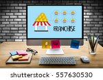Small photo of FRANCHISE Marketing Branding Retail and Business Work Mission Concept